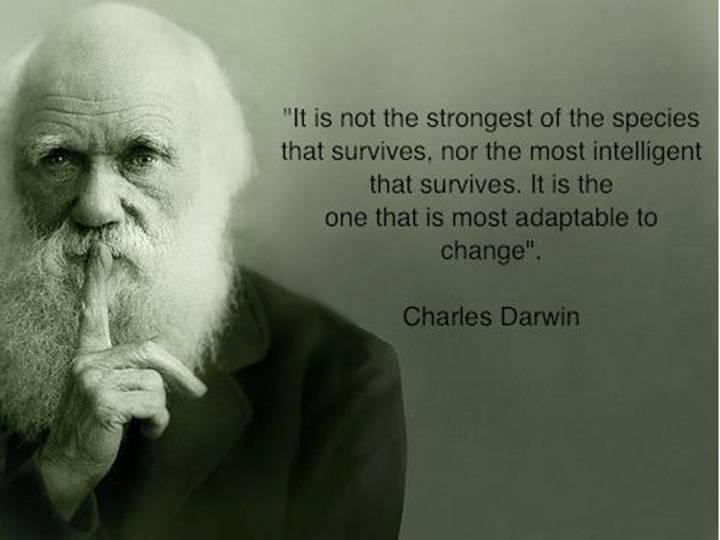 Change - Charles Darwin